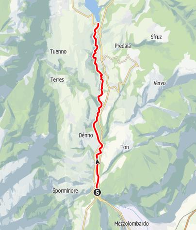 Mapa / Torrente Noce H