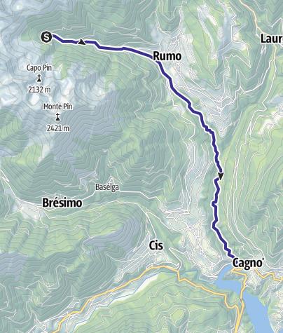 Cartina / Torrente Lavazzè L