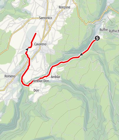 Mappa / Torrente Linor-Moscabio LM