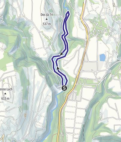Karte / Lago di Mollaro M