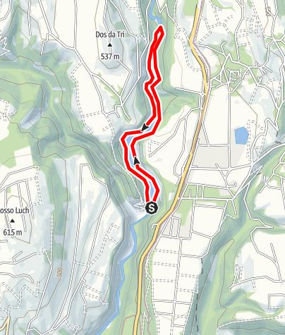 Mapa / Lago di Mollaro M