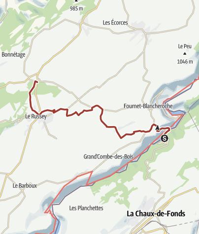 Cartina / Contrabbando - Bricotte - 4