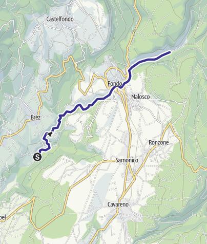 Cartina / Torrente Sass S