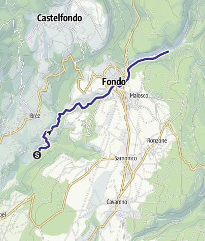 Karte / Torrente Sass S