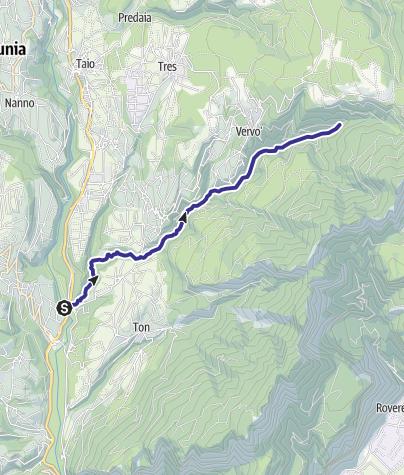Cartina / Torrente Pongaiola O