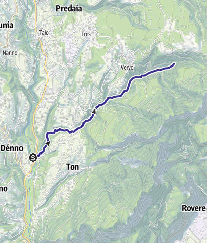 Mappa / Torrente Pongaiola O