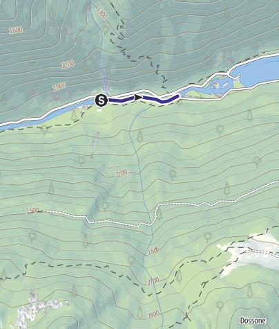Karte / Fiume Sarca di Val Genova NK4