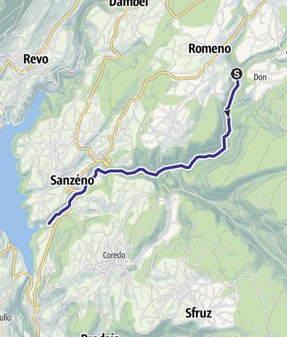 Karte / Torrente San Romedio