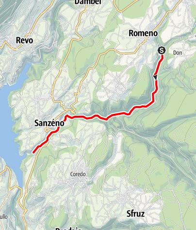 Carte / Torrente San Romedio