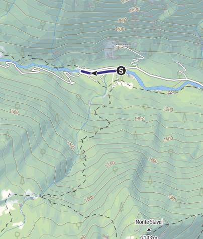 Mappa / Sarca di Val Genova Zona di Divieto G1