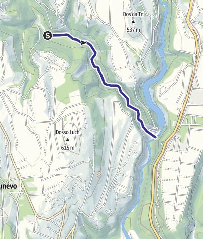 Mappa / Torrente Tresenga T