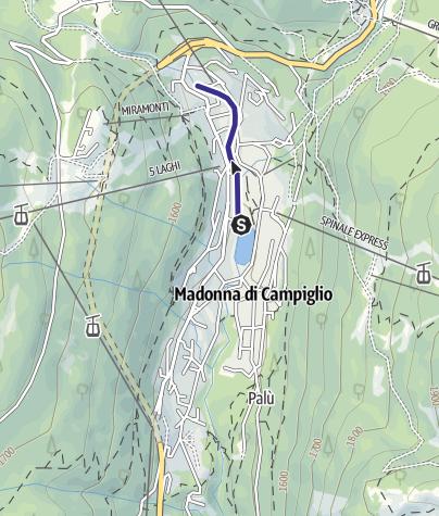 Karte / Sarca di Campiglio PP11