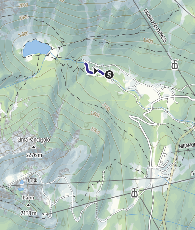 Cartina / Sarca di Campiglio Zona di Divieto C
