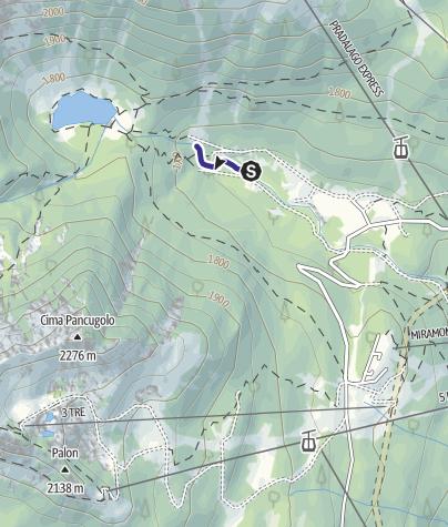 Map / Sarca di Campiglio Zona di Divieto C