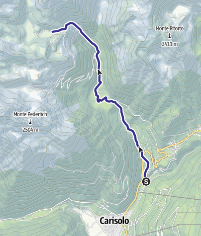 Map / Torrente Sarca di Nambrone E