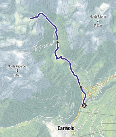 Karte / Torrente Sarca di Nambrone E
