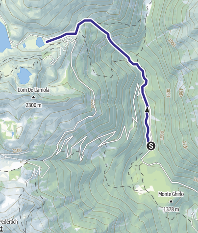 Karte / Torrente Sarca di Nambrone e affluenti E