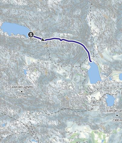 Cartina / Torrente Sarca di Nambrone e affluenti E