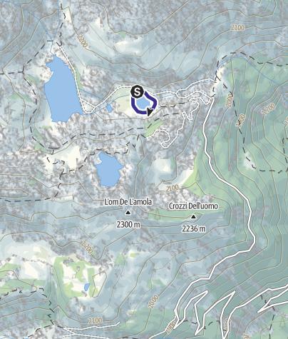 Map / Laghi Cornisello V