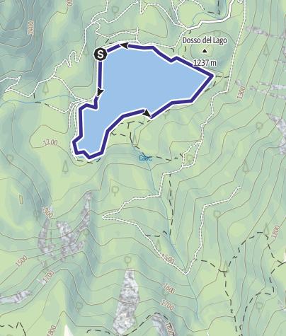 Cartina / Lago di Tovel B