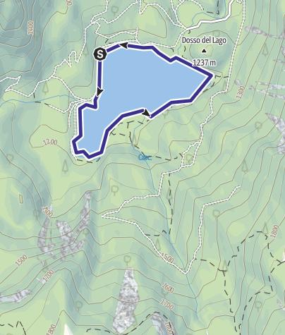 Map / Lago di Tovel B