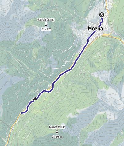 Cartina / Torrente Avisio A - Moena