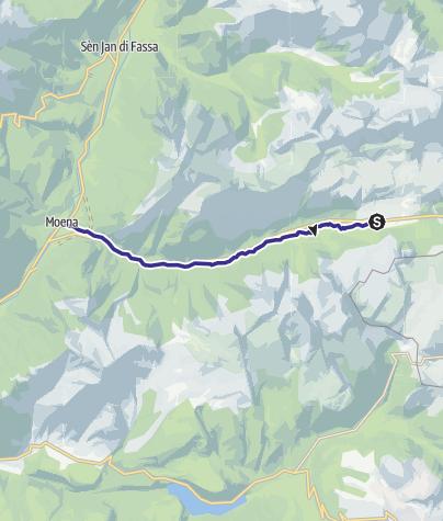 Map / Rio San Pellegrino D