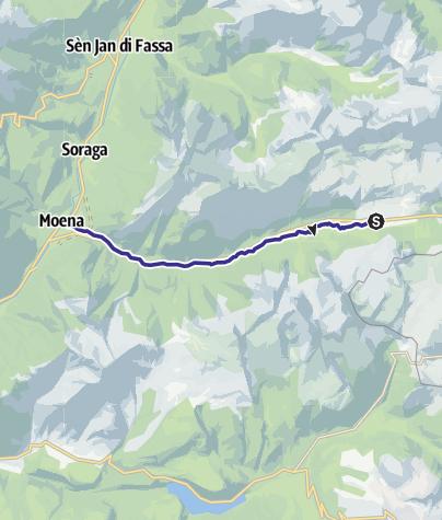 Karte / Rio San Pellegrino D