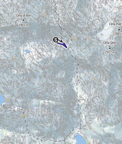 Map / Lago Scarpacò X