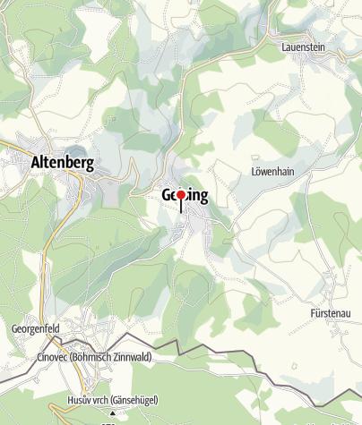 Karte / Parkplatz Skilift Geising