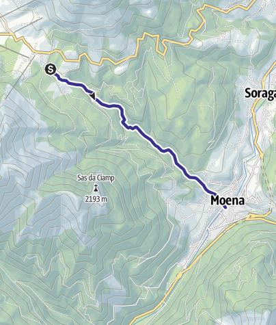 Karte / Torrente Costalunga E
