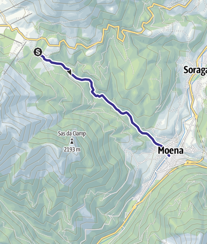 Map / Torrente Costalunga E