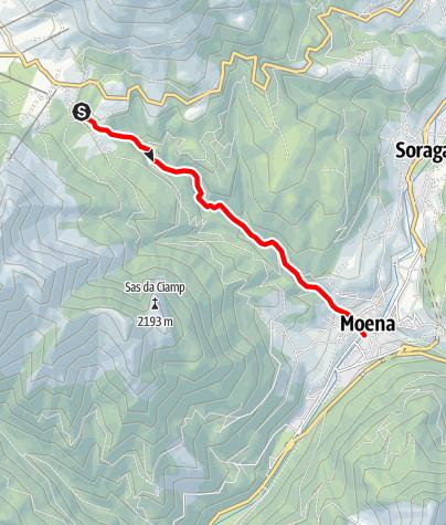 Map / Torrente Costalunga E
