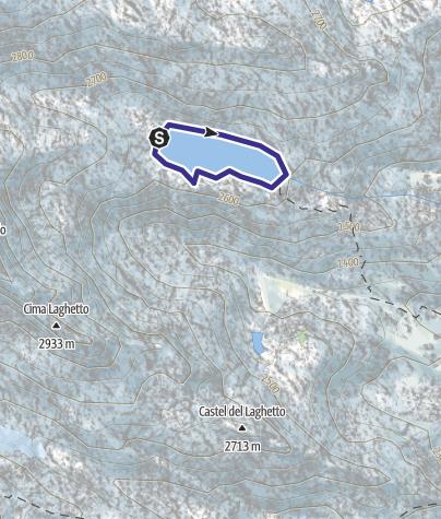 Karte / Lago Vedretta X