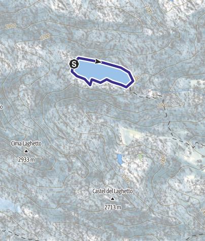 Map / Lago Vedretta X