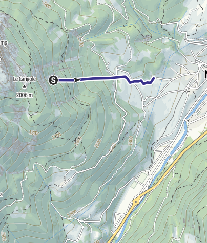 Mappa / Torrente Valsorda F
