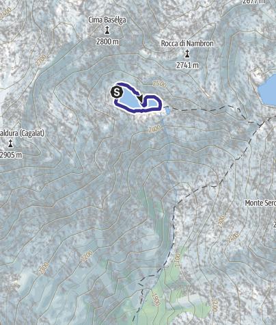 Karte / Lago di Nambrone X