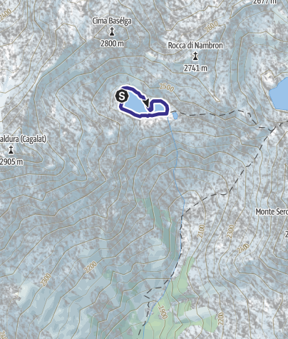 Mappa / Lago di Nambrone X