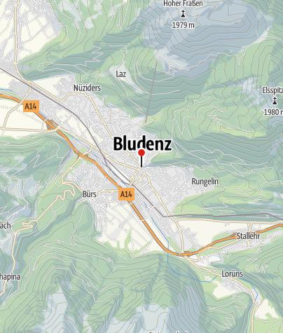 Karte / Schloßstiege und Laurentiuskirche