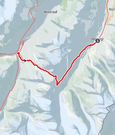 Karte / Gletscherflohmarsch