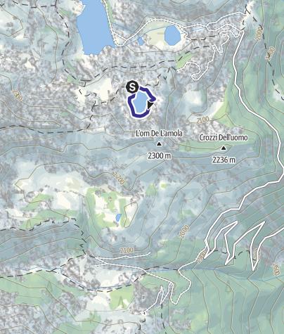 Karte / Lago Nero X