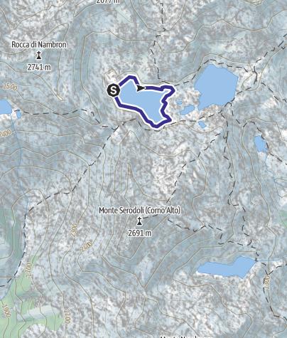 Mappa / Lago Gelato X