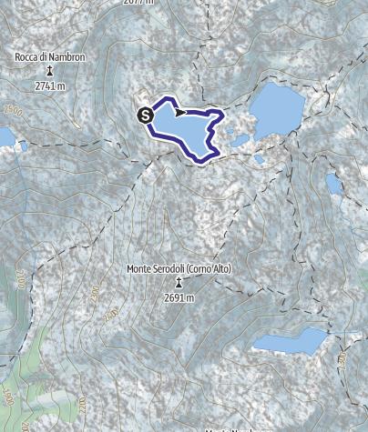 Map / Lago Gelato X