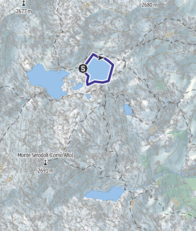 Map / Lago Serodoi X