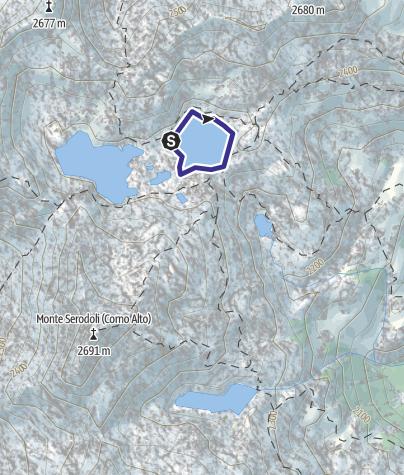 Mappa / Lago Serodoi X