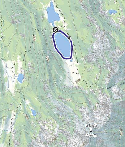 Map / Lago Garzonè U