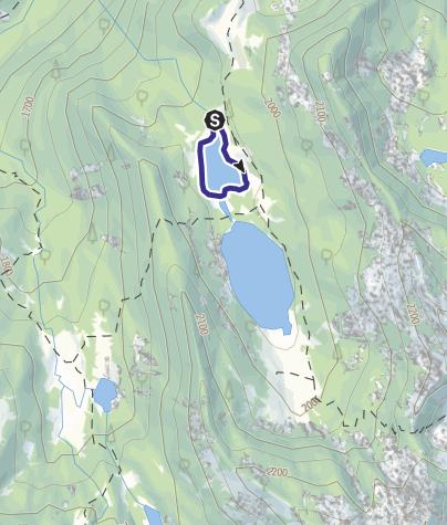 Cartina / Lago di San Giuliano T