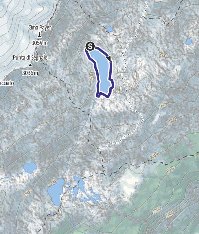 Mappa / Lago Scuro di Mandrone X