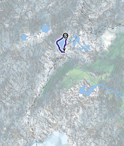 Cartina / Lago Mandrone X