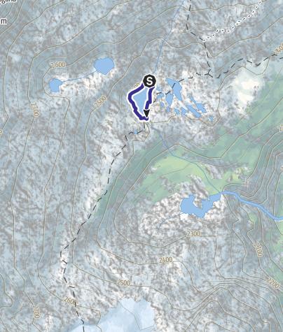 Mappa / Lago Mandrone X